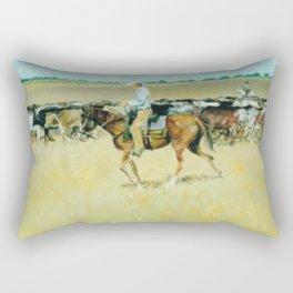 OUTBACK  AUSTRALIA           by  Kay Lipton Rectangular Pillow
