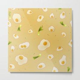 Savory Egg Metal Print