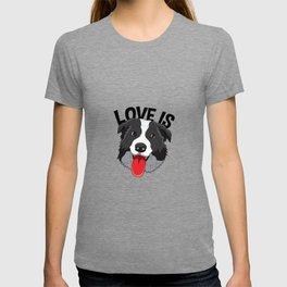 Border Collie Collies Lover Christmas Dog Collies T-shirt