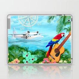 Tropical Travels Laptop & iPad Skin