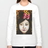 minnie Long Sleeve T-shirts featuring minnie by NAME THEGREY
