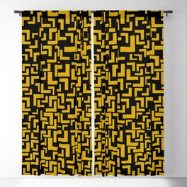 Glitches in the Void, Gold Blackout Curtain