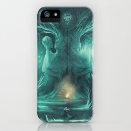 The Temple of Kahli iPhone Case