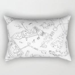 When THINGS Attack! Rectangular Pillow