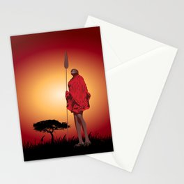 Masai & Africa Stationery Cards