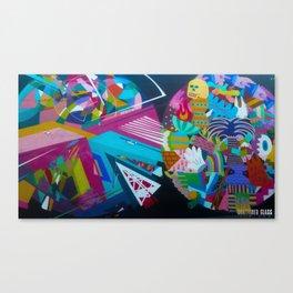 Color Rounds Canvas Print