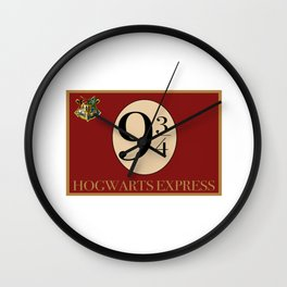 Hogwarts Express Wall Clock
