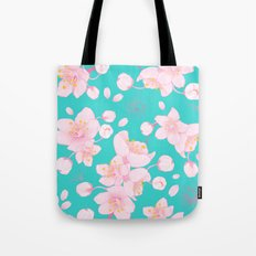 sakura blossoms Tote Bag