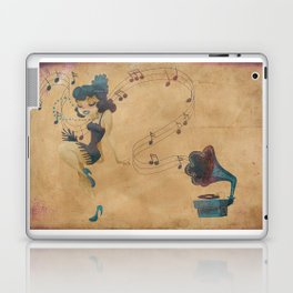 charleston dancer Laptop & iPad Skin