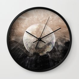 Planetary Soul Grace Wall Clock