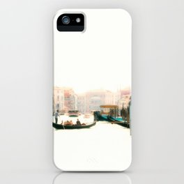 Venice, Italy Surreal Grand Canal iPhone Case