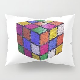 The color cube Pillow Sham