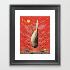 Fall From Grace Framed Art Print