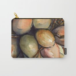 Tropical Palm Tree Coconuts Carry-All Pouch