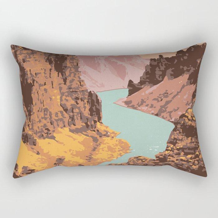Tuktut Nogait National Park Rectangular Pillow