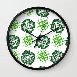 Forest evergreen Wall Clock
