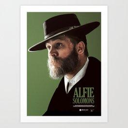 ALFIE SOLOMONS Art Print