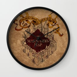 I Solemnly Swear That I Am Up To No Good Wall Clock