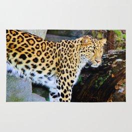Standing Leopard Rug