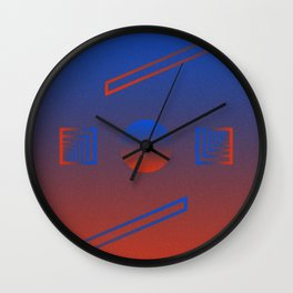 Dichotomy Wall Clock