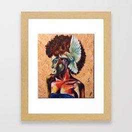 Birds the Word, pt 1 Framed Art Print