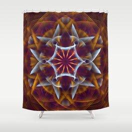 Mandalia Shower Curtain