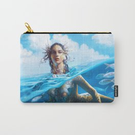 Ray Mermaid Carry-All Pouch