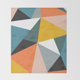 Modern Geometric 36 Throw Blanket