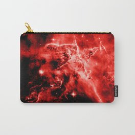 galAXY. Red Mystic Mountain Nebula Carry-All Pouch