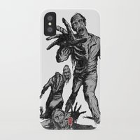 zombies iPhone & iPod Cases featuring Zombies by Christian G. Marra
