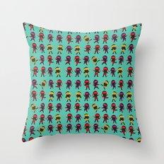 Ninjas Throw Pillow