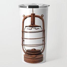 Very old kerosene lamp Travel Mug