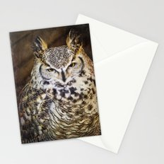 Whoooo Are You? Stationery Cards