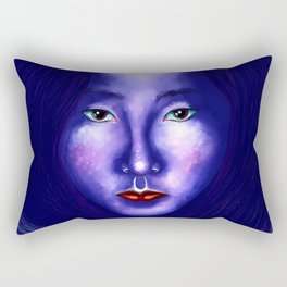 Floating Head Rectangular Pillow