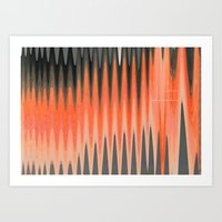 Sound Waves Art Print