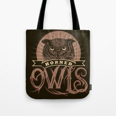 Team Owl Tote Bag