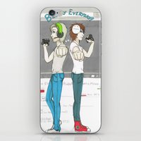 cryaotic iPhone & iPod Skins featuring Broday Everyday by SofusGirl