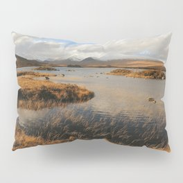 Rannoch Moor Landscape of Scotland Pillow Sham