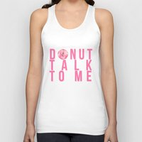 donuts Tank Tops featuring Donuts by lastminutebinge