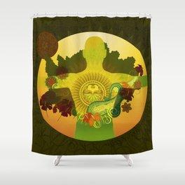 Communion Shower Curtain