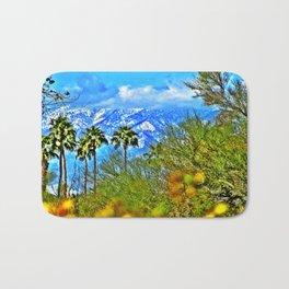 Californian Landscape Bath Mat