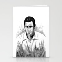 snl Stationery Cards featuring DARK COMEDIANS: Adam Sandler by Zombie Rust
