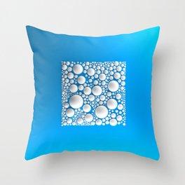 Circle Square Throw Pillow