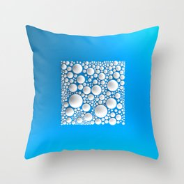 Circle Square Throw Pillow