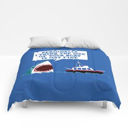 Polite Jaws Comforters