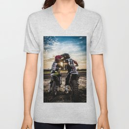 ACTION - ACTIVE - ADVENTURE - PHOTOGRAPHY Unisex V-Neck