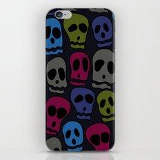 Skulls-3 iPhone & iPod Skin