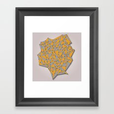 III SIDES Framed Art Print