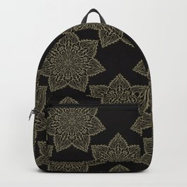 Intricate Star Arabesque Mandalas Backpack