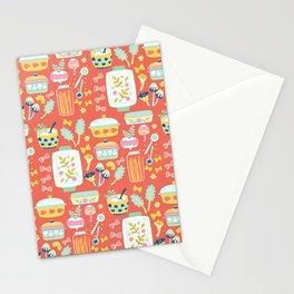 Let's make pasta Stationery Cards